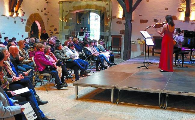 La beca Igartza Musika trae al Palacio audiciones de alumnos de Musikene
