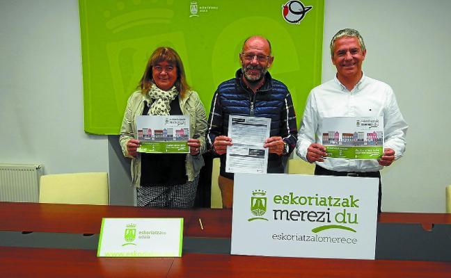 El ayuntamiento pone en marcha la campaña 'Eskoriatzak merezi du'