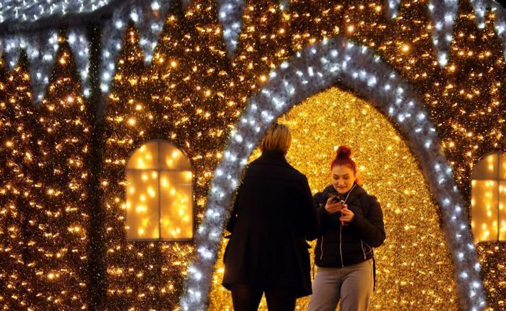 Belgrado enciende sus luces de Navidad