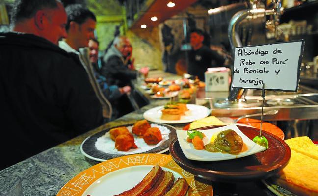 El Concurso de pinchos de Eibar arranca el martes en 27 bares