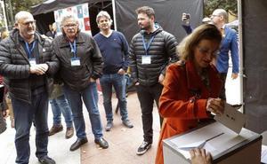 Representantes políticos catalanes actúan como observadores en la consulta