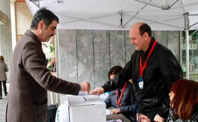 Las consultas de Gure Esku Dago en Donostia e Irun se quedan en un 11,1% de participación