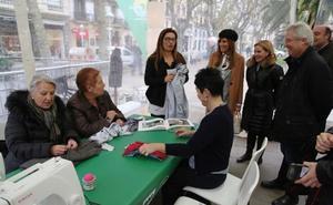 Talleres de reutilización y reciclaje textil en Donostia, dentro de la Semana Europea de Prevención de Residuos