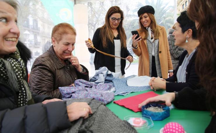 Taller de reciclaje textil
