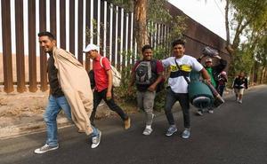 Protestas en Tijuana por la presencia de la caravana de migrantes