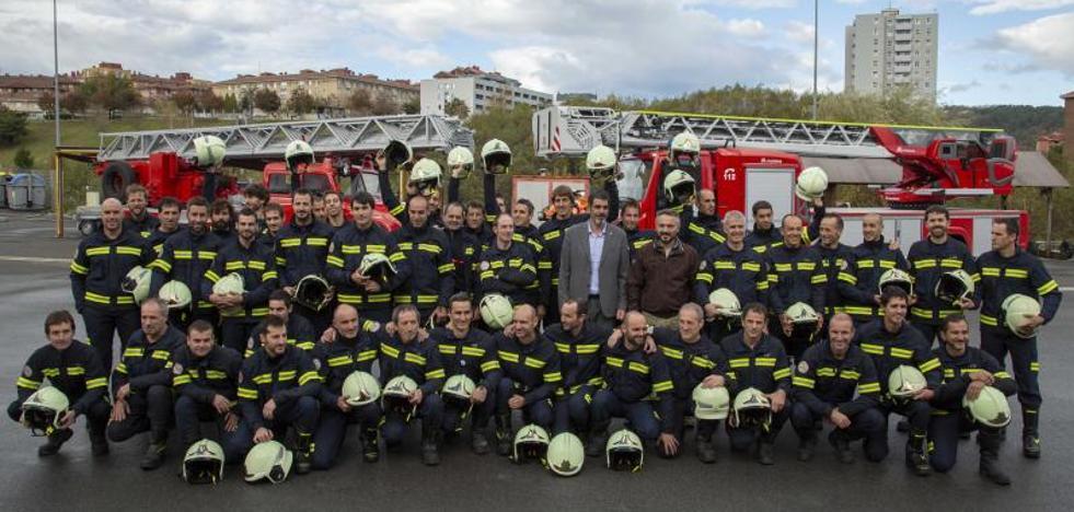 Nuevos bomberos para afianzar el cuerpo donostiarra