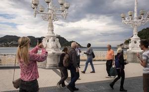 La entrada de turistas a Gipuzkoa sube un 3% en octubre gracias a la llegada de extranjeros