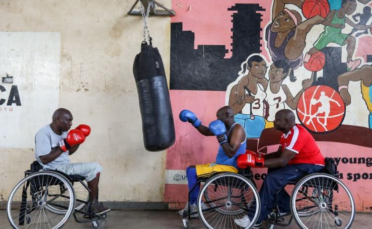 Boxeo contra la exclusión social