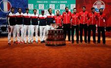 Francia y Croacia dan brillo a la última Copa Davis