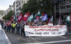 Sindicatos llaman a secundar los cuatro días de huelga previstos en la red concertada la semana que viene