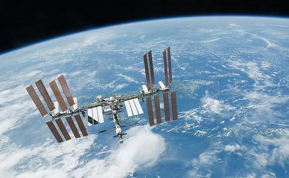 Resultado de imagen de La Estación Espacial Internacional