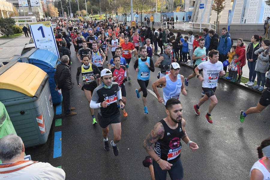 La Maraton de San Sebastián en imágenes