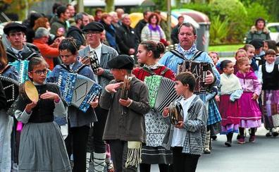 Animado adelanto de la fiesta de San Andrés