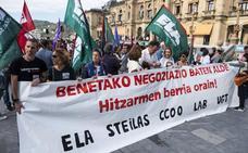 La red concertada afronta cuatro días de huelga con 120.000 alumnos afectados
