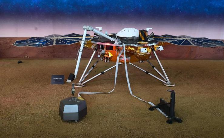 La sonda 'InSight' logra aterrizar en Marte