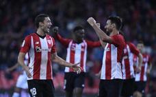 Aduriz lidera una goleada balsámica del Athletic