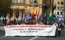 Los sindicatos piden a la patronal de la concertada propuestas razonables para acabar con el conflicto