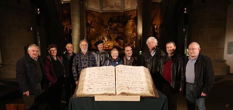 Un disco-libro para rescatar el gregoriano guipuzcoano