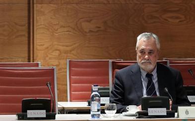 Griñán: «Estoy aquí porque dentro de tres días hay elecciones en Andalucía»