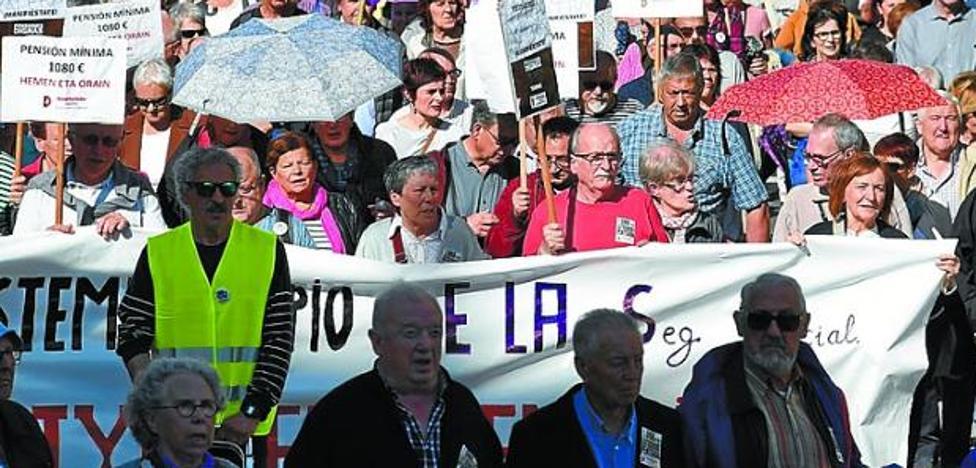 Los pensionistas vascos critican que el Gobierno Vasco trate de impulsar «los planes privados»