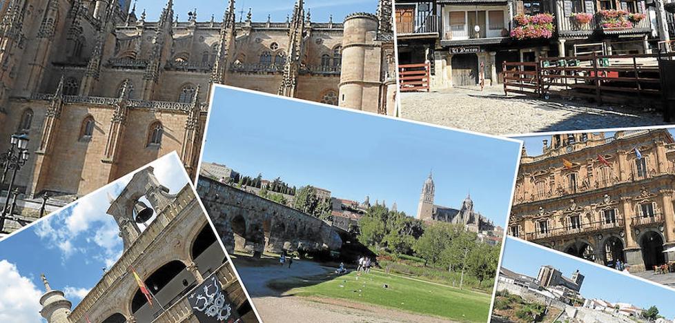 Salamanca, de norte a sur