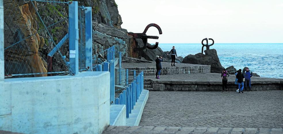 Una red especial protegerá la ladera del Peine y permitirá eliminar la valla actual