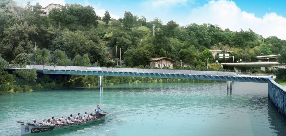El nuevo puente de Astiñene se abrirá en el verano de 2020