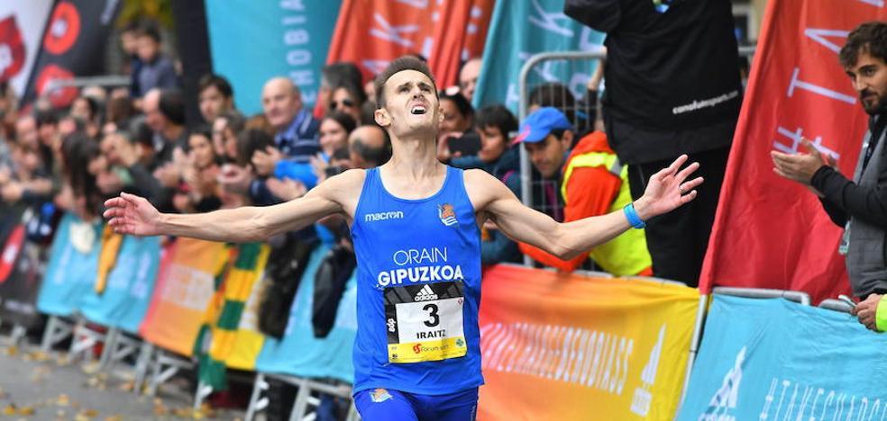 Iraitz Arrospide mejora tres minutos en Valencia