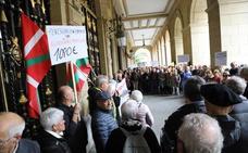 Pensionistas de Euskadi y Navarra solicitarán reunirse con el Gobierno español