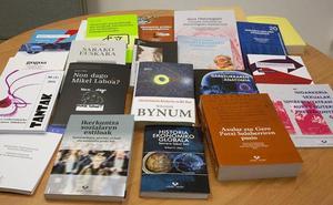 Euskarazko 26 liburu berri argitaratu ditu aurten UPV/EHUk