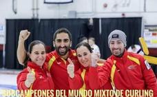 El Txuri Berri Curling efectuará el saque de honor en el Txuri - Barcelona