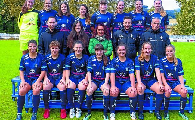 El primer equipo femenino afianza la racha con un 8-0 ante el Zarautz