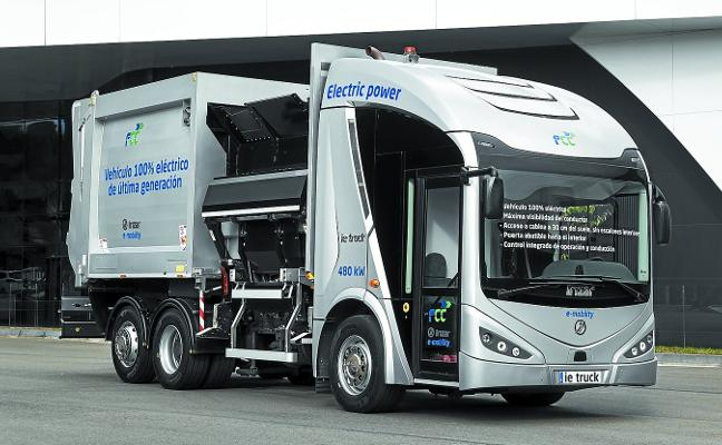 Irizar y FCC, a por el mercado de camiones de residuos eléctricos