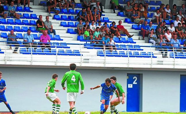 El Tolosa CF no pudo sumar a pesar de jugar un partidazo en Eibar (1-0)