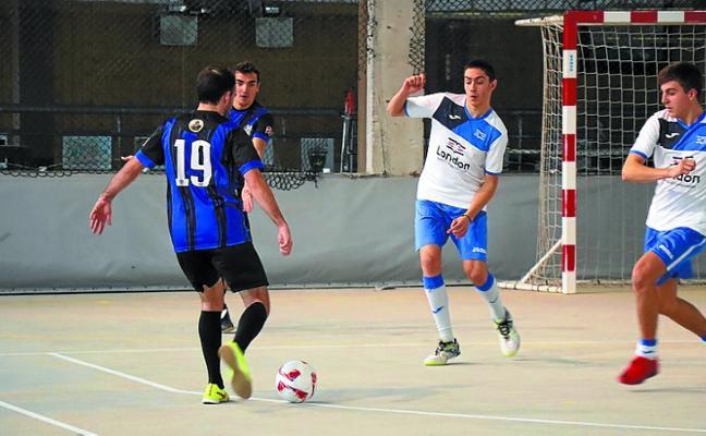 Dominio del Bar Buenetxea en el inicio del 36º Torneo local de fútbol sala