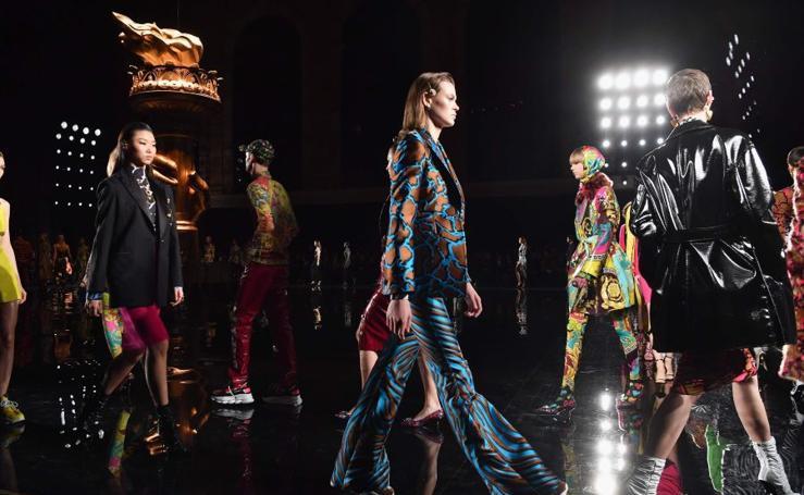 Los estampados de Versace