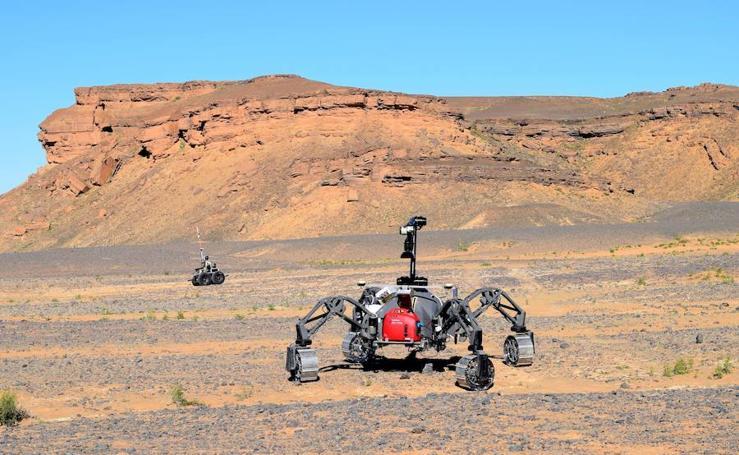 El astromóvil, del Sáhara a futuras misiones a Marte