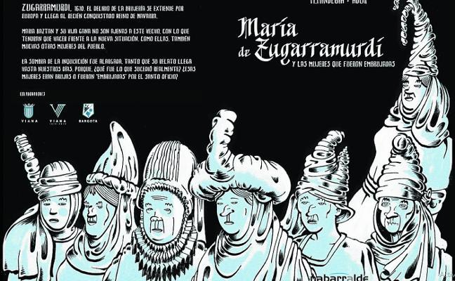 'María de Zugarramurdi', un cómic sobre las mujeres víctimas de la Inquisición