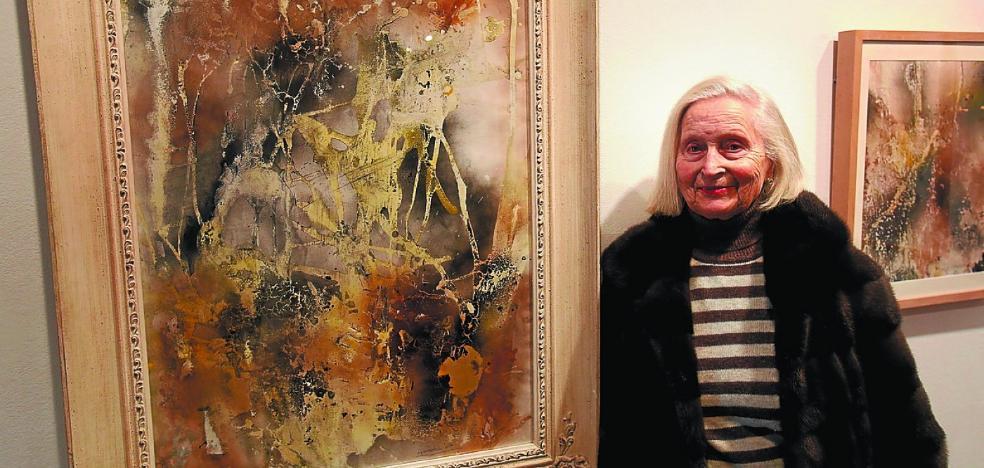 Dolores Aguirrezabala, la abstracción a los 91 años