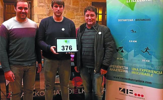 2.261 triatletas se han quedado en lista de espera tras el sorteo