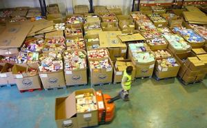 La gran recogida del Banco de Alimentos de Gipuzkoa alcanza los 681.000 kilos