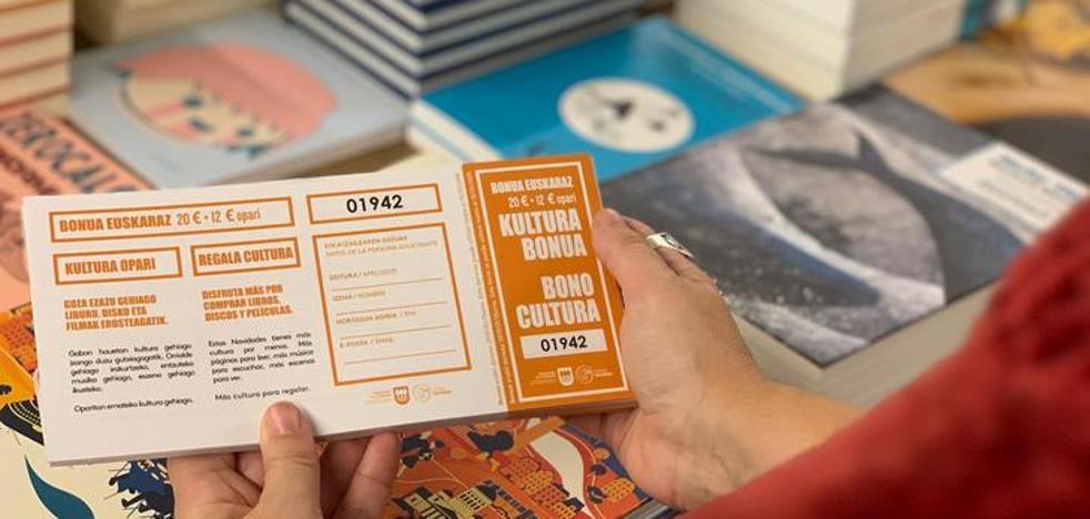 El Bonocultura se puede adquirir desde hoy en 64 establecimientos de Gipuzkoa