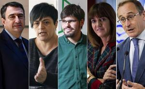 La mayoría de los partidos vascos son críticos con el balance de la Constitución
