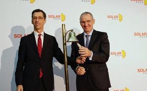 La empresa vizcaína Solarpack debuta en bolsa con una subida superior al 12 %