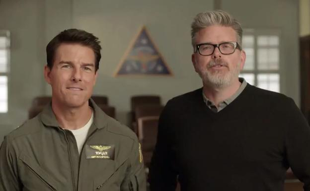 Tom Cruise y Chris McQuarrie./