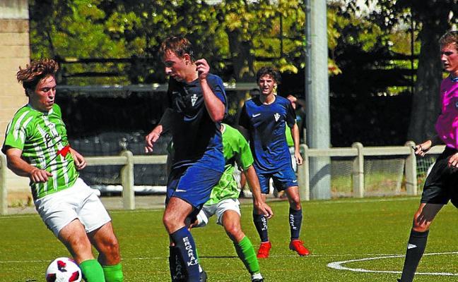 El Liga Nacional Juvenil recibe esta tarde a la Real Sociedad en Zubipe