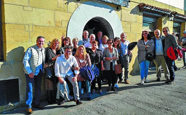 Almuerzo solidario en Euskal Billera
