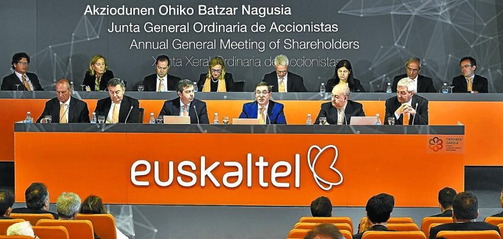 Kutxabank ha vendido un 1,22% de Euskaltel, sobre la que pende una OPA del fondo Zegona