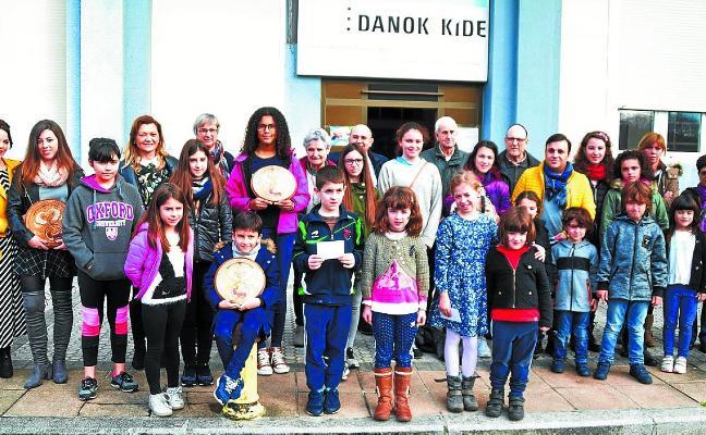 La asociación Danok Kide organiza en Navidad el XXVI Concurso de Belenes
