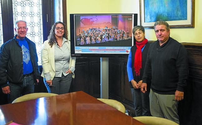 La Orquesta Sinfónica Taupadak vuelve al Amaia con un objetivo solidario